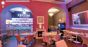 Bar a restaurace Crystal